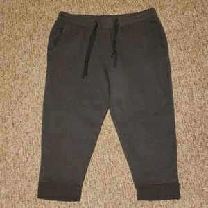 Fabletics cropped sweats